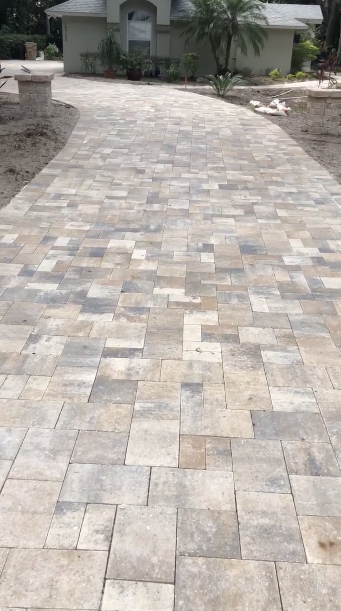 Paver Driveway Father Amp Son Landscaping Llc