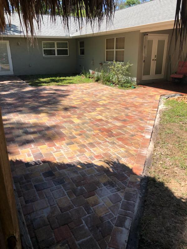 Square Paver Patio | Father & Son Landscaping, LLC on Square Paver Patio Ideas id=57246